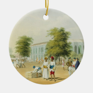 Scene in Bombay, from Volume I of 'Scenery, Costum Christmas Ornament