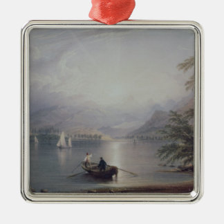 Scene in the English Lake District Christmas Ornament