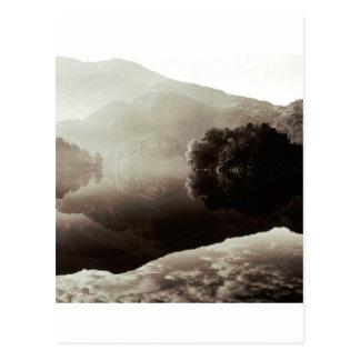 Scene Loch Katrine Scotland Postcard