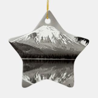 Scene Mount Saint Helens Spirit Lake Christmas Ornament