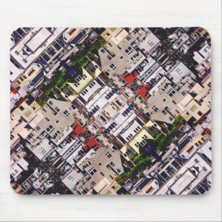 Scene of City Structures Mouse Pad