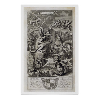Scene of Hell, illustration from Book 1 Part 3 Cha Poster