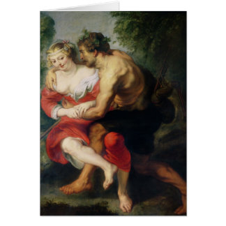 Scene of Love or, The Gallant Conversation Card