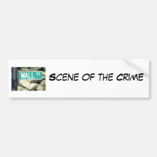Scene of the Crime Bumper Sticker
