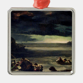 Scene of the Deluge, 1818-20 Christmas Ornament