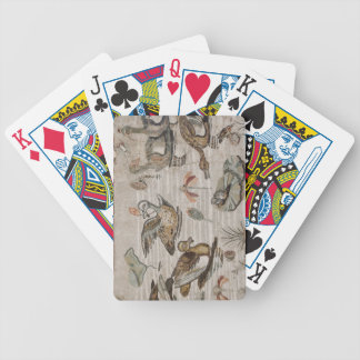Scene of waterfowl on the Nile, House of Faun Bicycle Playing Cards