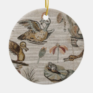 Scene of waterfowl on the Nile, House of Faun Christmas Ornament