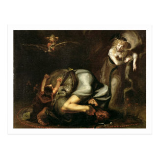 Scene of Witches from 'The Masque of Queens' by Be Postcard