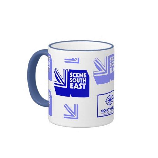 Scene South East (Southern Television) Mug