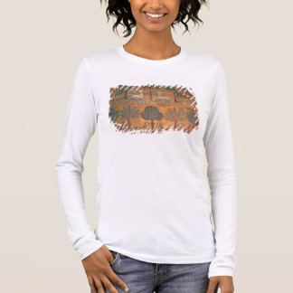 Scene with Centaurs, from the Room of King Ruggero Long Sleeve T-Shirt