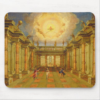 Scene X: the courtyard of the King of Naxos Mouse Pad