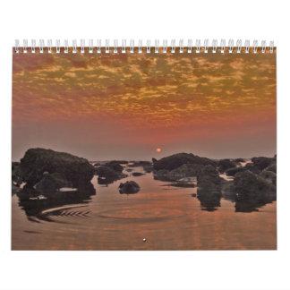 Sceneries in nature calendar 2010