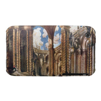 Scenery design for the Betrothal from Sleeping Be iPhone 3 Cases