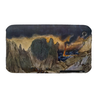 Scenery design from Phedre 1917 colour litho Case-Mate iPhone 3 Cases