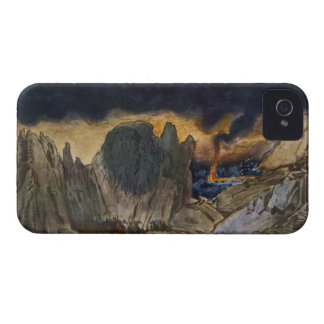 Scenery design from Phedre, 1917 (colour litho) Case-Mate iPhone 4 Case
