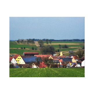 Scenery of Germany Canvas Print