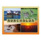 Scenes from Australia Postcard
