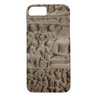 Scenes from Buddha's life, Sarnath, Uttar Pradesh iPhone 8/7 Case
