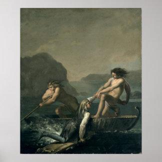 Scenes from 'Niels Klim's Subterranean Journey' Poster