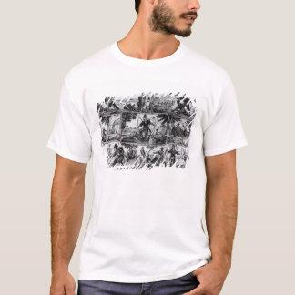 Scenes from 'Robinson Crusoe' by Daniel Defoe T-Shirt