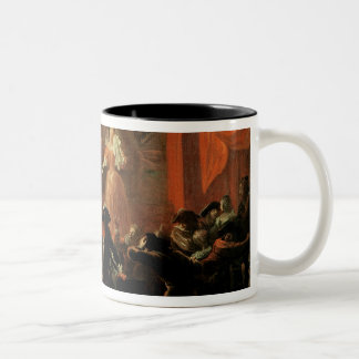 Scenes from 'Roman Comique' by Paul Two-Tone Coffee Mug
