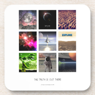Scenes From Space Beverage Coasters