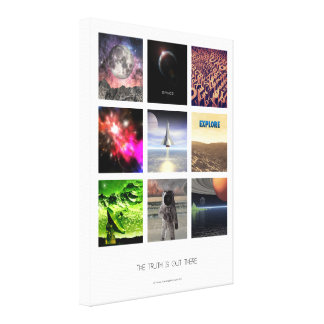 Scenes From Space Canvas Print