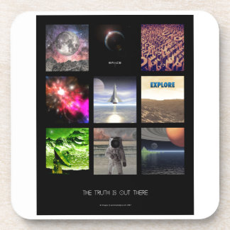 Scenes From Space Drink Coaster