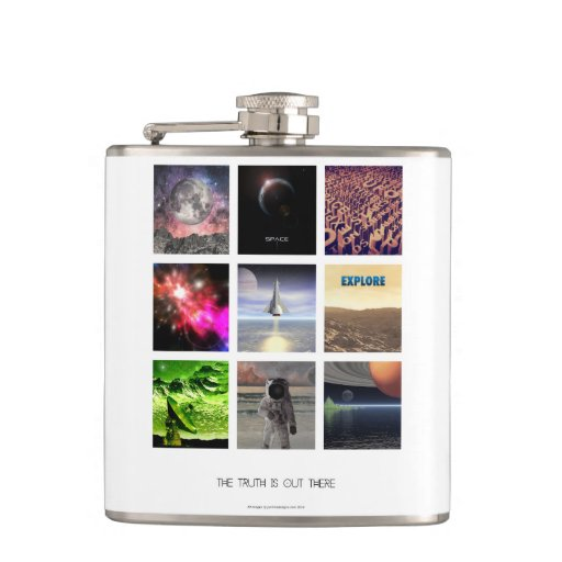 Scenes From Space Flask