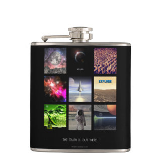 Scenes From Space Flasks