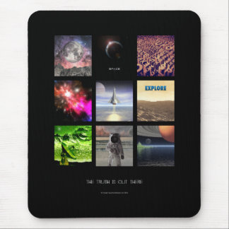 Scenes From Space Mousepads