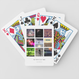 Scenes From Space Poker Deck