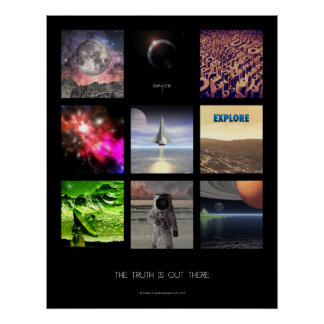 Scenes From Space Posters