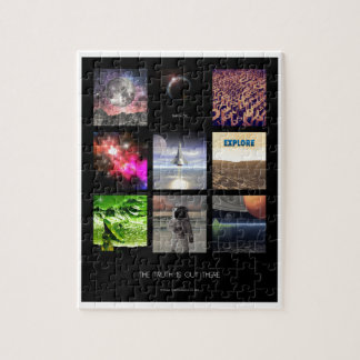 Scenes From Space Jigsaw Puzzles
