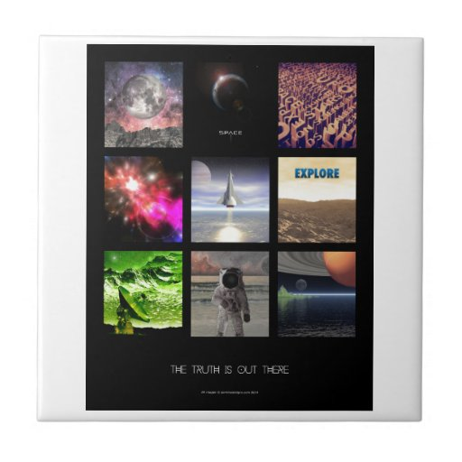 Scenes From Space Tile