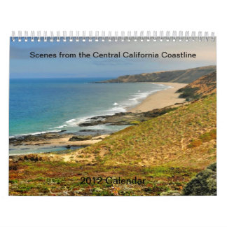 Scenes from the Central Coast of California Wall Calendar