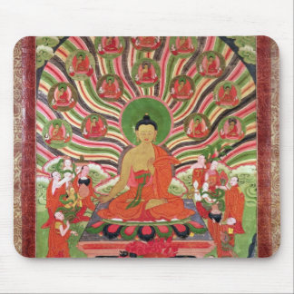 Scenes from the life of Buddha Mouse Mat