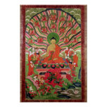 Scenes from the life of Buddha Posters