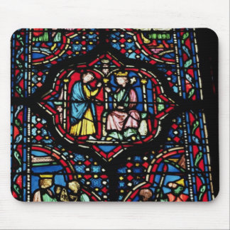 Scenes from the life of King David, 13th century ( Mouse Pad