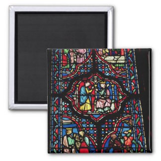 Scenes from the life of King David, 13th century ( Square Magnet