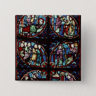 Scenes from the life of Saint John the Baptist 15 Cm Square Badge