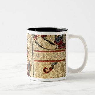 Scenes from the Life of the Virgin Two-Tone Coffee Mug