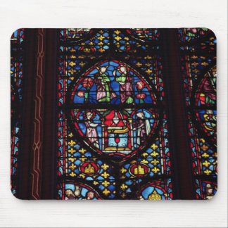Scenes from the Old Testament, 13th century (stain Mouse Pad