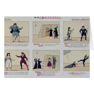 Scenes from the Opera 'Rigoletto' Card