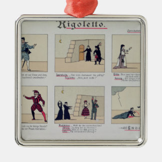 Scenes from the Opera 'Rigoletto' Christmas Ornament
