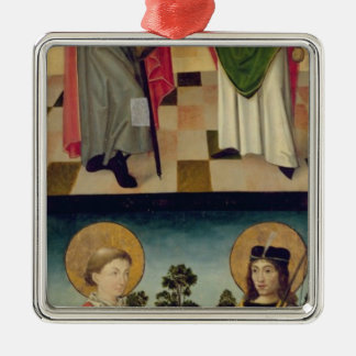 Scenes from the Passion and Saints Christmas Ornament