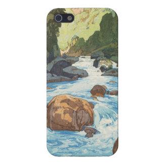 Scenes in the Japan Alps, Kurobe River Yoshida art iPhone 5 Cases