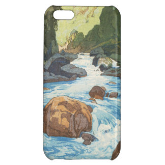 Scenes in the Japan Alps, Kurobe River Yoshida art iPhone 5C Cases