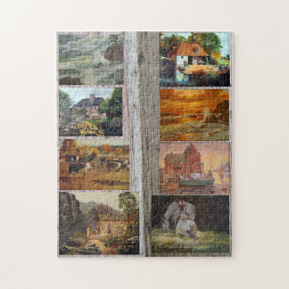 Scenes of Life Jigsaw Puzzle