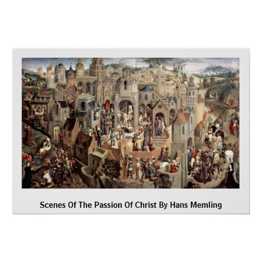 Scenes Of The Passion Of Christ By Hans